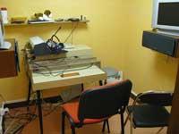 Cabine d'audiométrie
